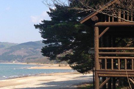 Bãi biển Shirahama ở Tazawako