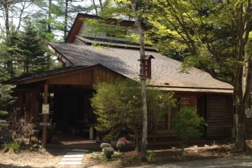 <p>Rizanbo is unchanged from thirty five years ago, hidden in the forests to the west of Karuizawa</p>