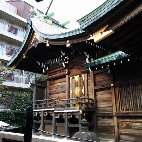 Đền Otori ở phường Meguro