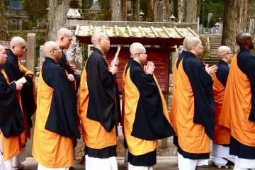 Meeting the Monks of Koya-San