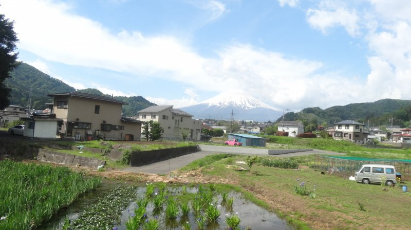 <p>Mount Fuji from any angle is spectacular</p>