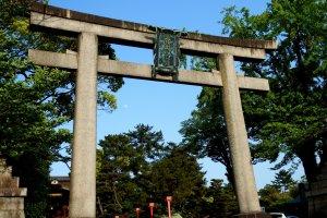 Torii Gate of Toyokuni Shrine