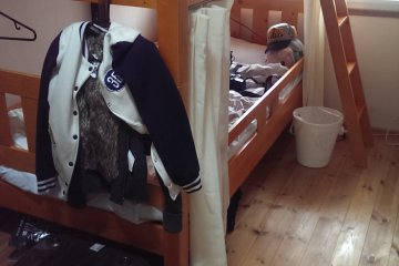 <p>The bunk-bed room</p>