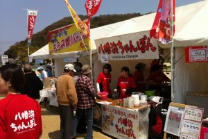 Noodle stall in the castle park