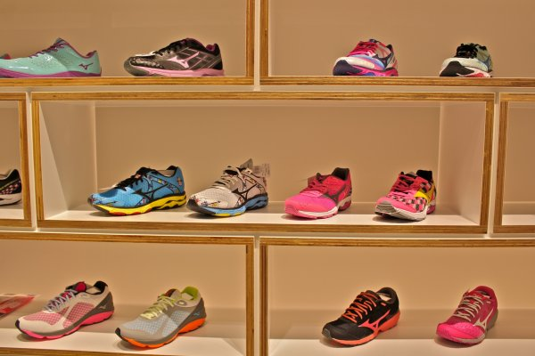 Mizuno brand collection of Women s shoes at Nohara by Mizuno in Harajuku. b14d2b393