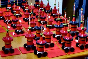 These are for the famous Gion Yamahoko (floats) Festival in Kyoto