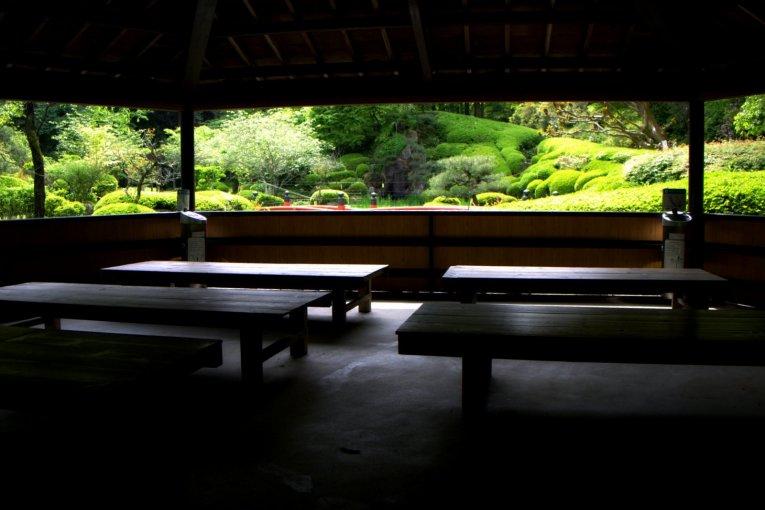 Vườn ao Muyu-en của Ishiyamadera