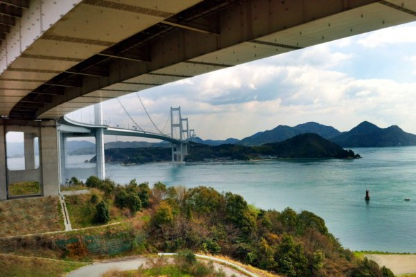 Shimanami Kaido from the Ehime side