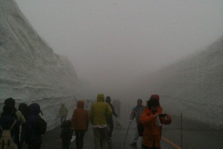 Toyama's Snow Wall