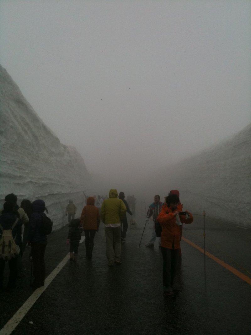 Toyama Snow Wall