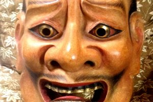 Myths and Legends come alive with Noh. These masks are not museum items, but are part of living folklore