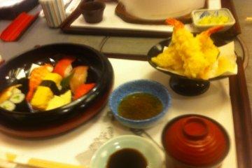 Sushi and Tempura Set