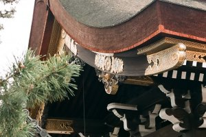 A beleza está no detalhe do Palácio Imperial de Quioto