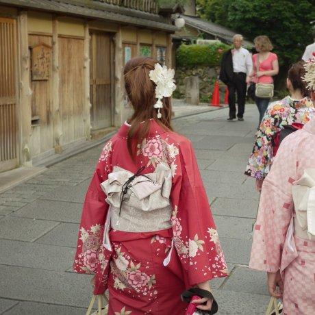 The Ascent of Kiyomizu Temple