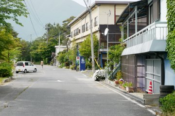<p>The town is very small and cute.</p>