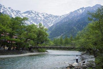La Beauté Divine de Kamikōchi