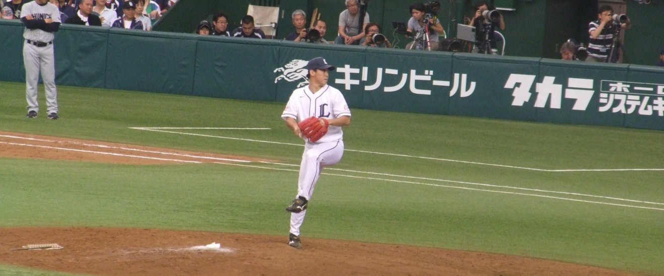 The Saitama Seibu Lions do battle in the Pacific League