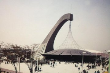 The futuristic Australian Pavilion at Osaka EXPO 1970