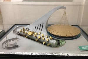 Architectural model for the Australian Pavilion EXPO 1970