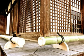 <p>Bamboo looks lovely everywhere in Japan</p>
