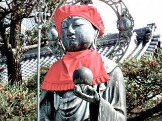 A unique statue