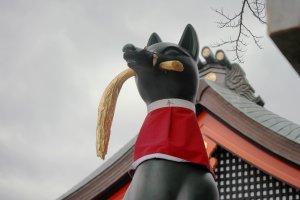 Inari avec sa gerbe de riz