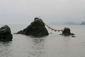 The Sacred Rocks of Meoto Iwa