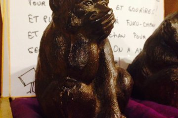 <p>Monkey statue hints at what&#39;s to come</p>