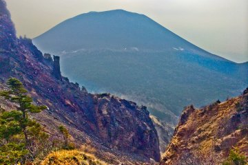 """Первый раз, когда гору Асаму стало четко видно, произошел возле """"Томи-но-касира"""""""