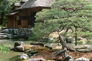 One of Japan's best landscaped gardens is hidden behind the closed-off walls of Katsura Imperial Villa.