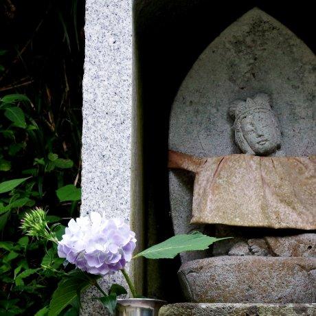 Statues at Daian-zenji Temple