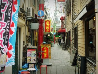 In smaller streets, you may also find restaurants and shops.
