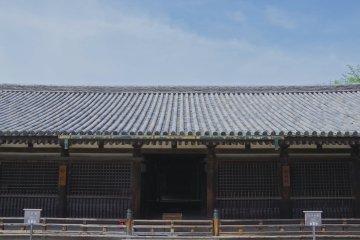 <p>Shari-den Hall, to the north of Yume-dono Hall</p>