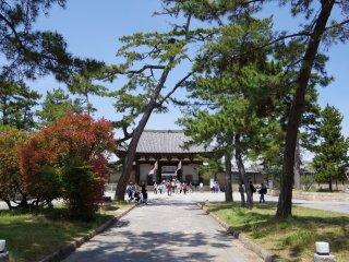 Đường đến cổng Nandai-mon còn xa vời vợi