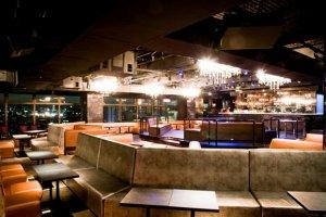 Vanity's lounge area