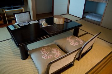<p>One of the Traditional Japanese rooms offered</p>