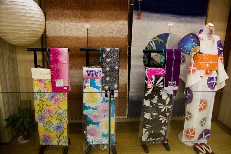 <p>A large kimono stand</p>