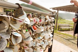 Locks at the Lover's Sanctuary