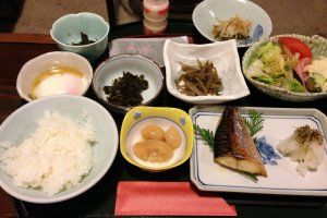Japanese breakfast at its best