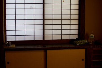 <p>Our tatami room</p>
