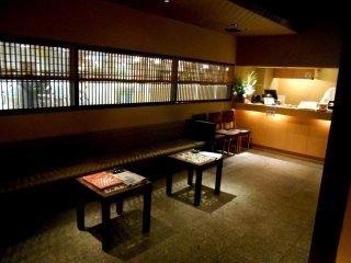 Waiting area of Hacchouya, Fukui