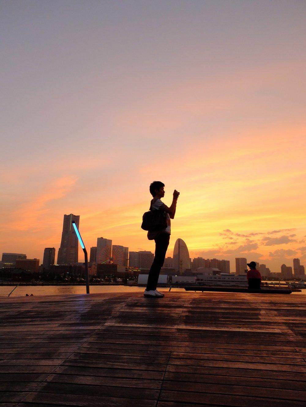 A Ponte Osan é o lugar mais romântico de Yokohama