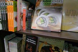 Japanese cookbooks aplenty