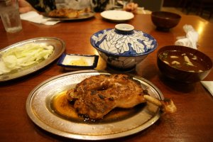 Hinadori chicken