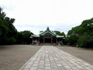 오사카 성곽공원 호코쿠 사당 본관