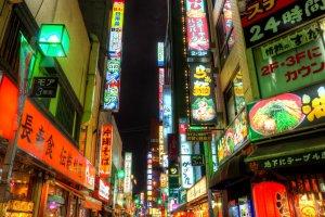 Somewhere in Shinjuku