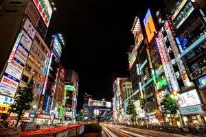 A vibrant look at Shinjuku and all its motion