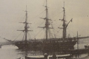 Hegt became a captain and owned his own sailing ship, the Stad Enschede