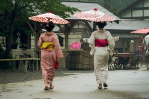 Just a regular day in an Edo village!  Go back in time to the 17th to 19th century.