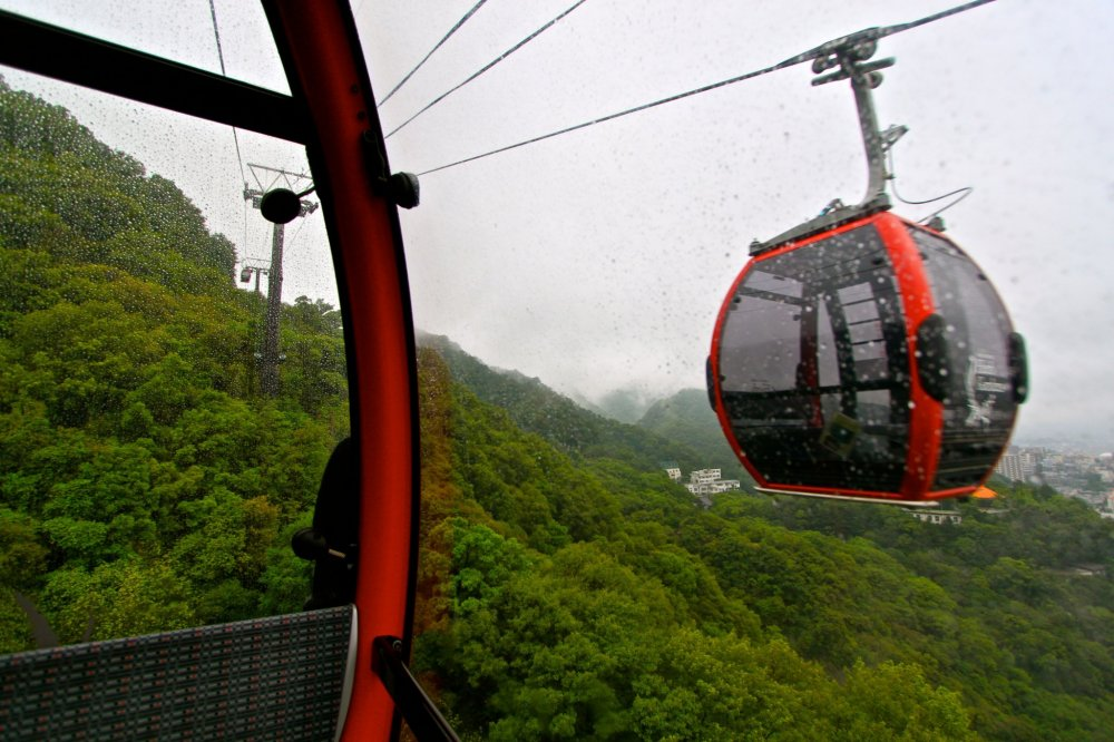 Kobe-Ropeway พาขึ้นสู่เทือกเขา Rokko